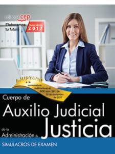 Simulacros de examen para auxilio judicial