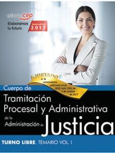 Temario gestión procesal turno libre